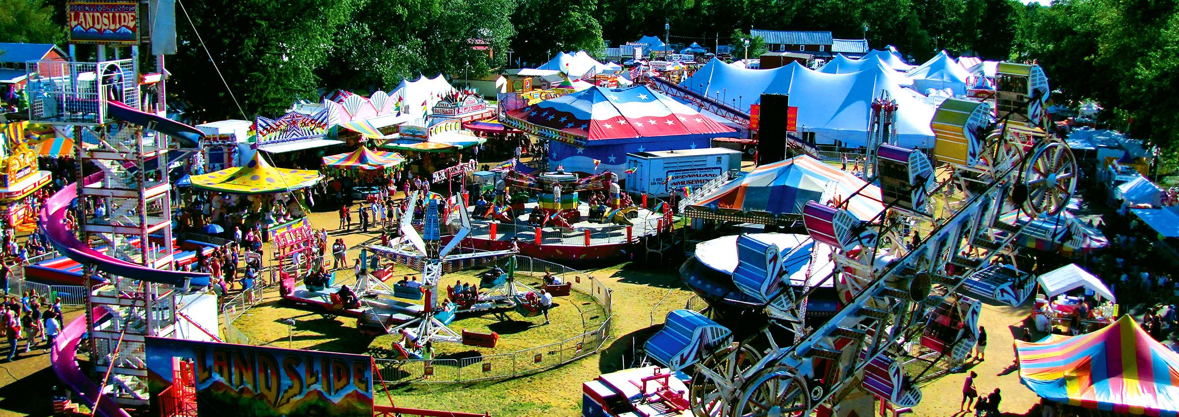 Carnival & Amusement Park Rides | Dreamland Amusements ...